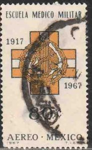 MEXICO C324, 50th Anniversary of Military Medical School. USED, VF. (636)