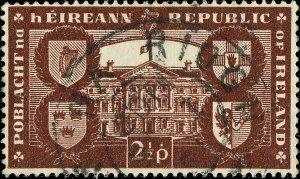 IRLANDE / IRELAND / EIRE - 1949  NÁS NA RÍOGH  (Naas, Co.Kildare) CDS on SG146