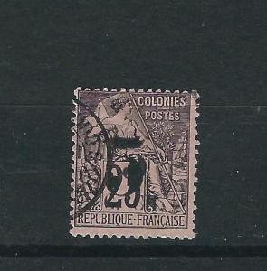 Cochin China 4a Y&T 4a Dbl Schg Used Fine 1887 SCV $1500.00