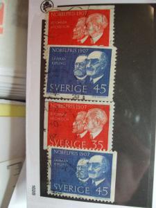 Sweden #769-772 set used