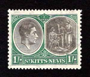ST. KITTS AND NEVIS  SC# 86a  VF/MOG