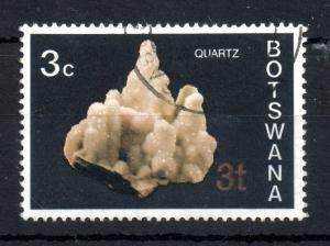 Botswana 1976 3t on 3c Misplaced Surcharge variety SG#369A WS13515