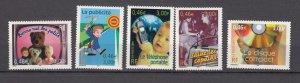 J27710  2001 france set mnh #2804a-e communication