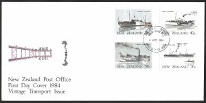 New Zealand First Day Cover [7802]