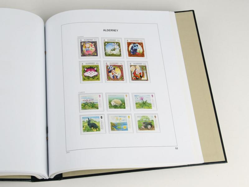 DAVO Luxe Hingless Album Alderney II 2016-2018