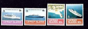 Cayman Is 392-95 MNH 1978 Ships   #2