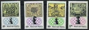 Hungary SC2289-2295 ChessPlayers-50thAniv.In'l.ChessFederation&21stChessOlym.'74