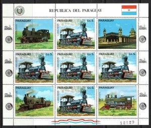 Paraguay 1983 Souvenir Sheet MNH #2067