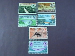 RHODESIA & NYASALAND # 172-177-MINT NEVER/HINGED-COMPLETE SET----QEII----1960