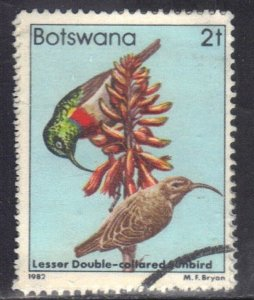 BOTSWANA SC# 304 **USED** 2t 1982  BIRDS SEE SCAN