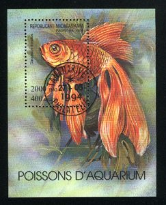 Malagasy Republic #1199  SS Fish  NH VF 1994 PD