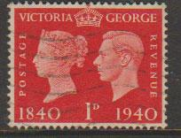 GB George VI  SG 480 Used