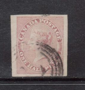 Canada #8 Used With Huge Margins Gem **With Certificate**
