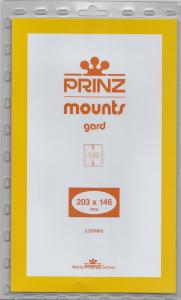 PRINZ CLEAR MOUNTS 203X146 (5) RETAIL PRICE $10.50