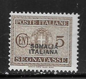 SOMALIA, J42, MINT HINGED, POSTAGE DUE STAMPS OF ITALY