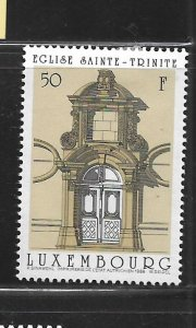 LUXEMBOURG, 794, MINT HINGED, DOORWAYS