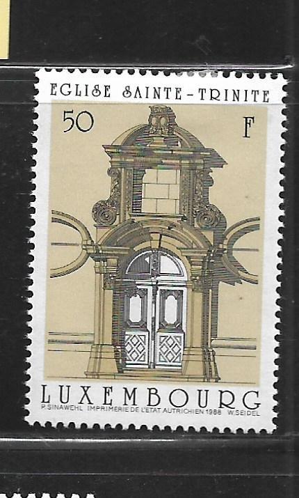 LUXEMBOURG, 794, MINT HINGED, DOORWAYS