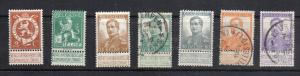 Belgium 93//101 Mint and used CV $37.50