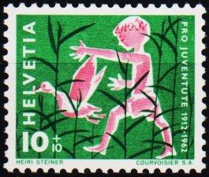 Switzerland. 1962  10c+10c S.G.J193 Fine Used