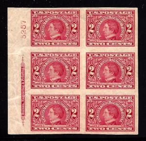 371 Mint,OG,NH... Plate Block of 6... SCV $350.00