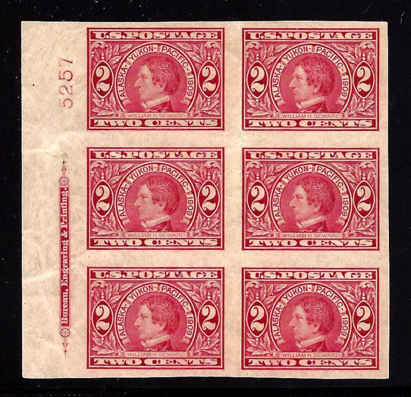 371 Mint,OG,NH... Plate Block of 6... SCV $350.00