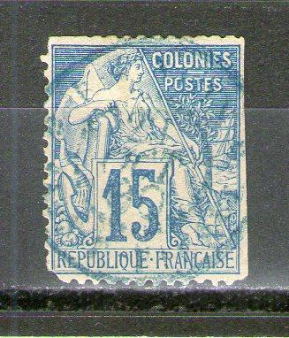 French Colonies 51 used
