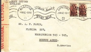 1943, Capetown, South Africa, Censored, See Remark (C3250)