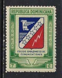 DOMINICAN REPUBLIC C53 MNH ARMS 66C-1