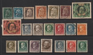 Bavaria a small used lot of earlies