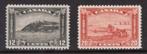 Canada #174 - #175 VF/NH Duo