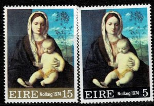 Ireland 1974 Christmas MH