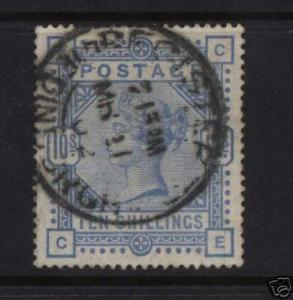 Great Britain #109 XF Used With Date Cancel
