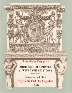France #B423a Red Cross Booklet  CV $3.50 Z49