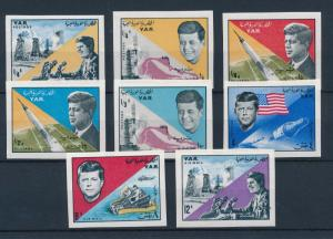 [42626] Yemen YAR 1965 American president Kennedy Space Imperforated MNH