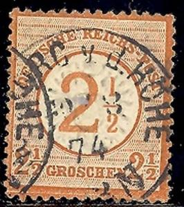 Germany #27  used VF