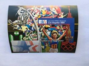 Chad 1982 Summer Olympic, Los Angeles 1984, MInt,Imper.Mi 107B