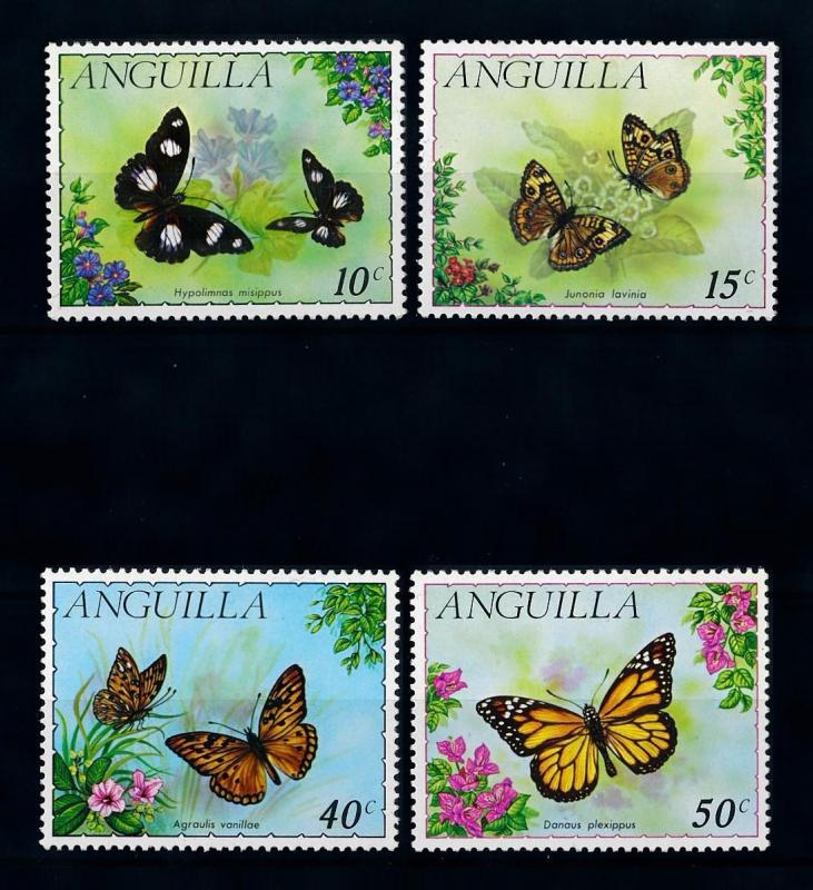 [71118] Anguilla 1971 Insects Butterflies  MNH