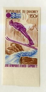 DAHOMEY 153 MNH IMPERF SCV $7.00 BIN $3.50 OLYMPICS