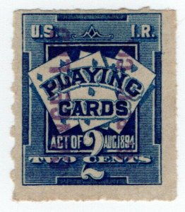 (I.B) US Revenue : Playing Card Tax 2c (SPC Co)