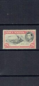 ASCENSION ISLAND - 1938 KING GEORGE VI - 2sh6p - SCOTT 47a - USED