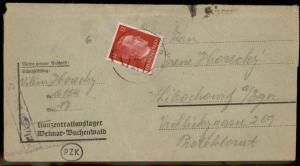 3rd Reich Germany 1943 Mittelbau Dora V2 Rocket KL Weimar Buchenwald Block 87609
