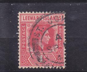 Leeward Islands  Scott#  105a  Used
