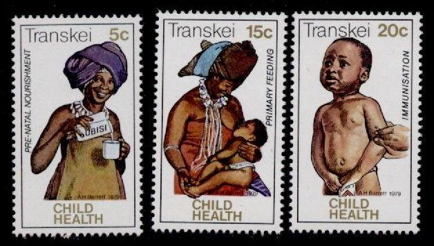 Transkei 66-8 MNH  Child Health, Mother & Child