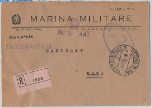 ITALIA  - FRANCHIGIA MILITARE: MARINA - Nave : MOTOSILURANTE MS 441