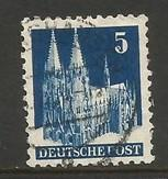 GERMANY 636 VFU 207A-6