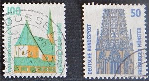 Deutsche Bundespost, Germany, (1259-Т)
