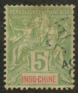 Indo-China 6 Used VF