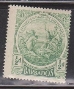 BARBADOS Scott # 128 MH - Seal Of The Colony