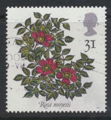 Great Britain SG 1570    Used  - Roses Belfast
