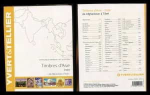 YVERT & TELLIER 2015 STAMP CATALOG In Color Asia Tibet Afghanistan India & More